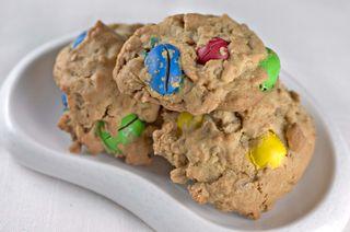 PeanutButter&M&MCookies