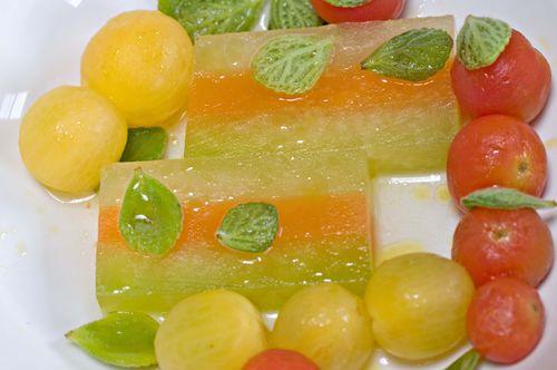 WarmedMelonTerrine&Tomatoes