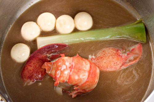 LobsterGoatCheeseLeekSauce