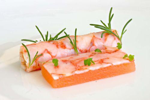 ShrimpSheetMelonFetaSorrelSaltWort