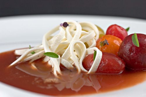 TomatoSoupMozzarellaNoodlesThaiBasil