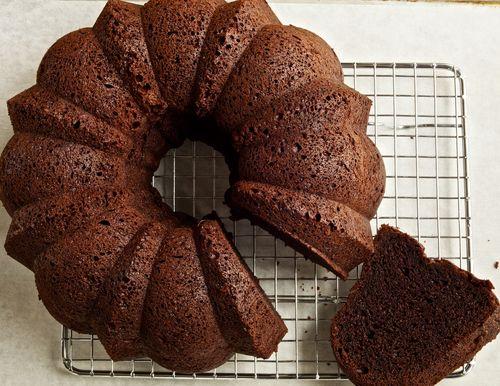 GlutenFreeYeastedChocolateCake
