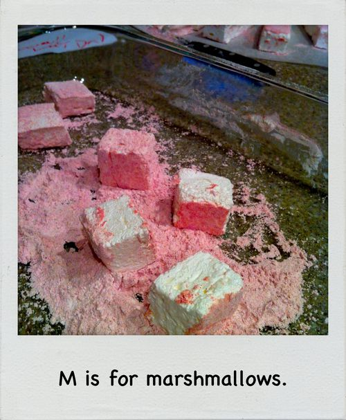 Raspberry Marshmallows