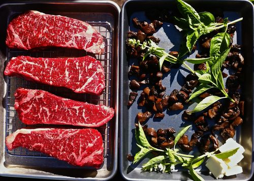 Steak&Mushrooms