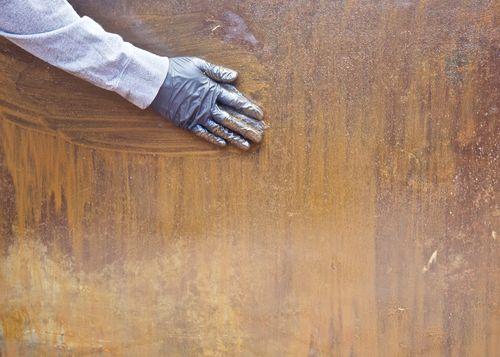 RustedCartTopScrubbing