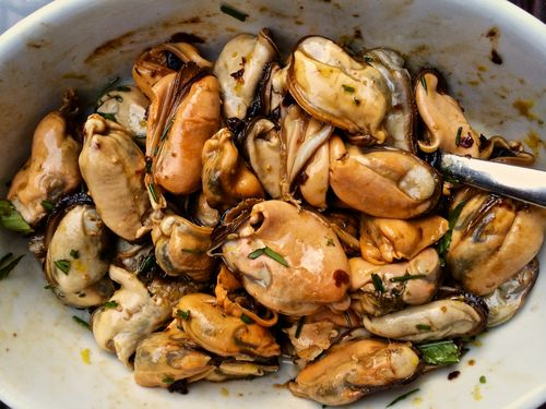 Marinated-Mussels