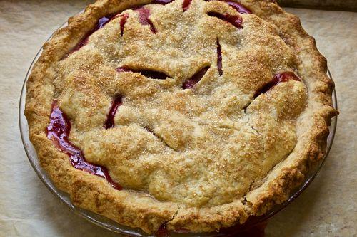 Rhubarb-Pie