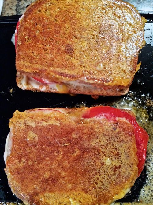 Griddled-Grilled-Cheese