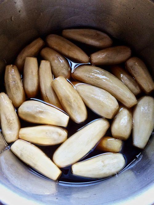 Eggplant-Vinegar-Syrup