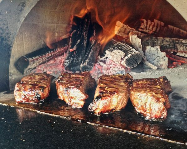 Ideas In Food Wood Oven Seared Steaks