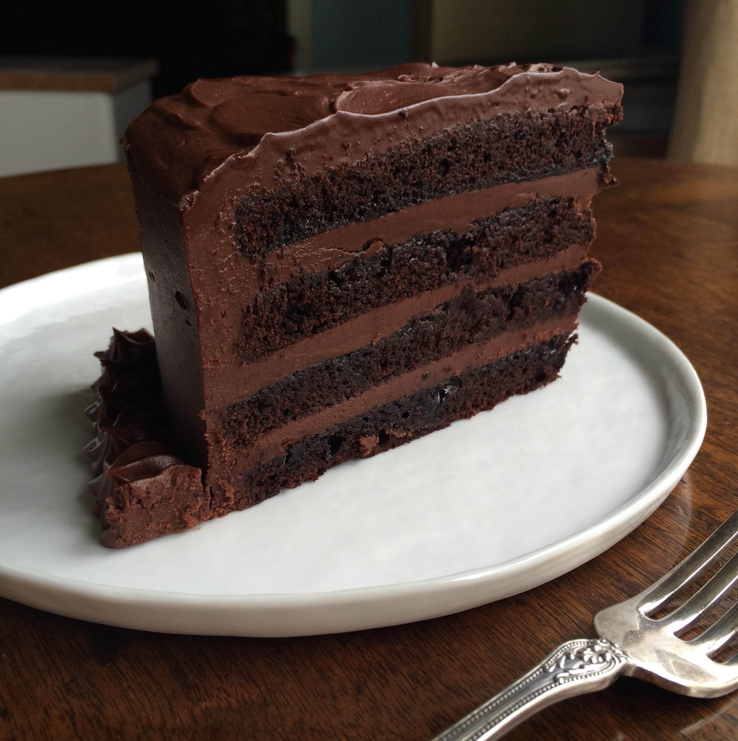 Ideas In Food Triple Chocolate Cake